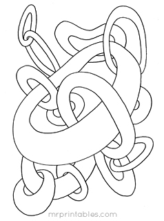 downloads - Coloring Pages Abstract Printable