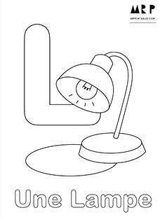 french alphabet coloring pages - photo#3