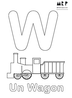 french alphabet coloring pages - photo#25