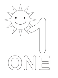 Number Coloring Pages - Mr Printables