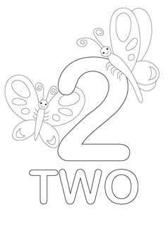 numbers coloring pages Number Coloring Pages   Mr Printables numbers coloring pages