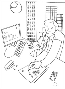People Coloring Pages Mr Printables