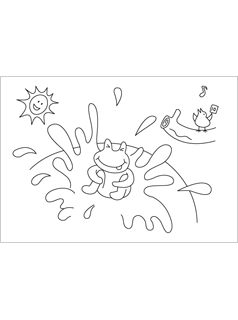 More From Mr P Dragon Coloring Pages