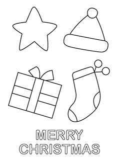 Christmas Coloring Pages For Kids on goat patterns