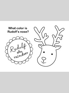 Printable Christmas Coloring Pages - Mr Printables