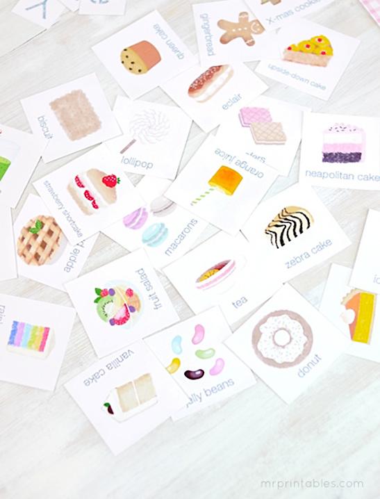 ABC Café File Folder Game - Mr Printables