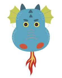 graphic relating to Printable Dragon Mask referred to as Printable Dragon Masks - Mr Printables
