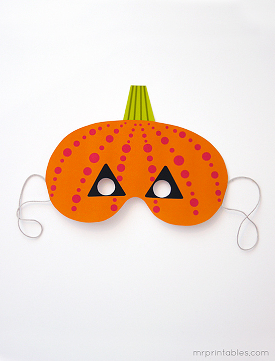 graphic relating to Free Printable Halloween Masks referred to as Printable Halloween Masks - Mr Printables