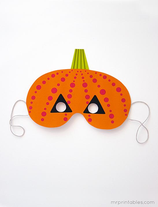 Printable Halloween Masks Mr Printables