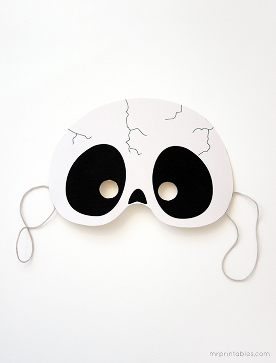 image relating to Free Printable Halloween Masks named Printable Halloween Masks - Mr Printables