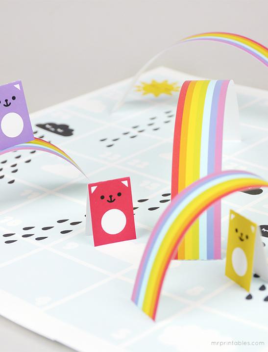 Leuke binnen activiteiten voor kinderen met een eigen bordspel