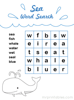 math worksheet : word search puzzles  mr printables : Word Search Worksheets For Kindergarten