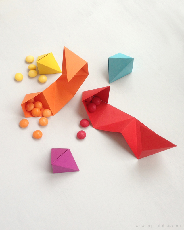 DIY origami party favor tutorial