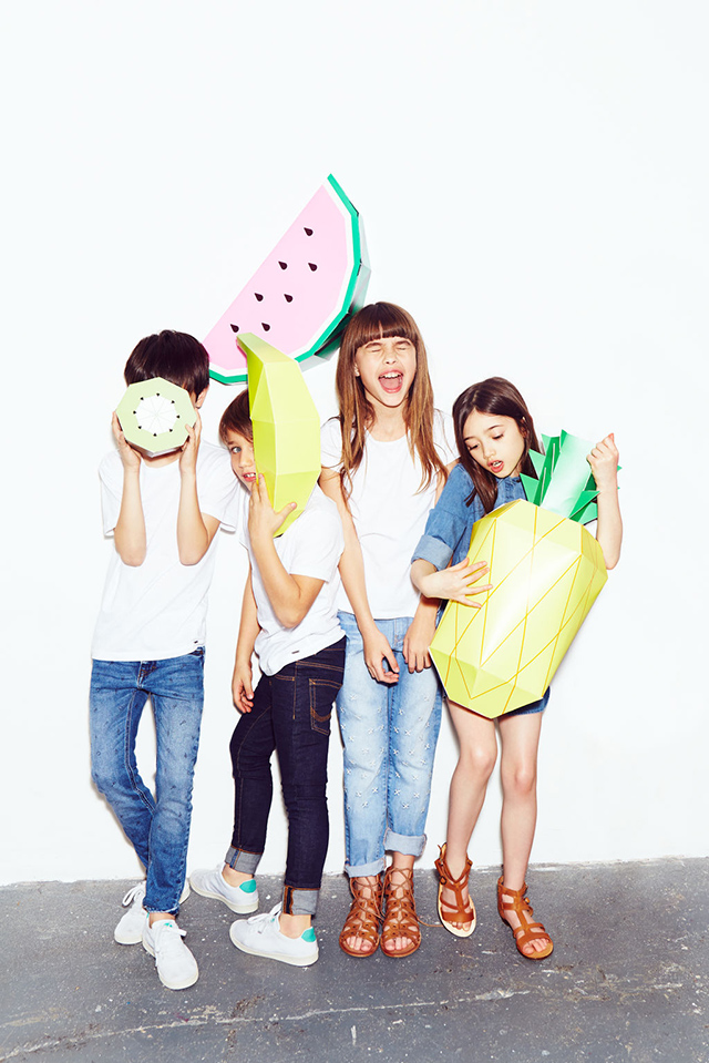Zara Kids w/ Mr P Giant Tropical Fruit
