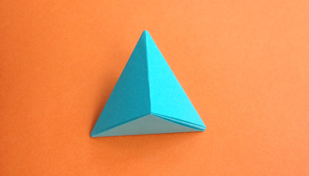 origami bipyramid step-by-step tutorial