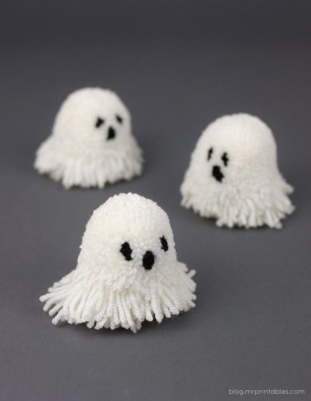 Let\'s Make Halloween Pompoms - Mr Printables