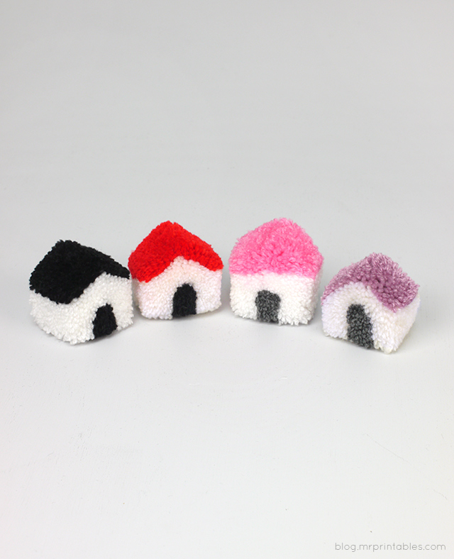Pompom house tutorial