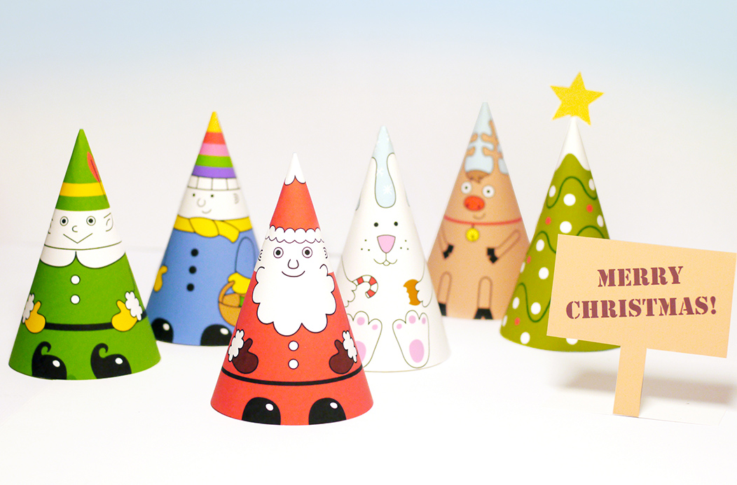 Santa & Co Paper Dolls - Mr Printables