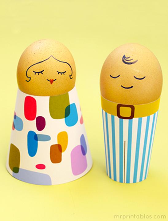 Egg People Easter Crafts