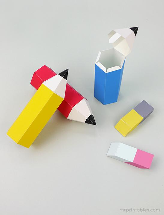 back to school pencil favor boxes mr printables