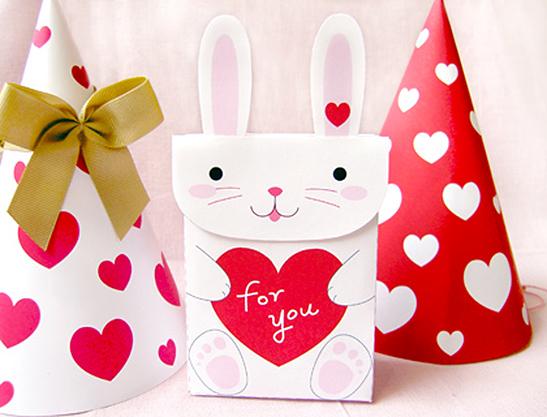 Schön My Bunny Valentine Favor Bags