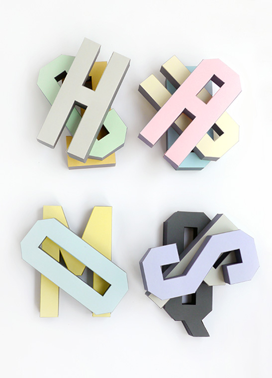 3D Alphabet Templates - Mr Printables