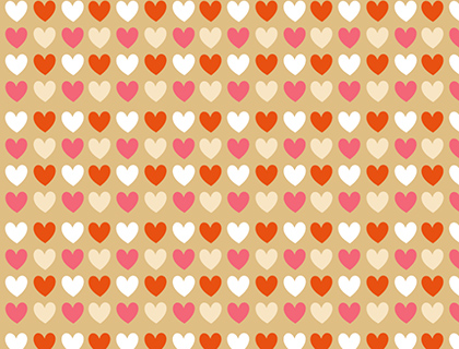 Hearts Scrapbook Papers Mr Printables