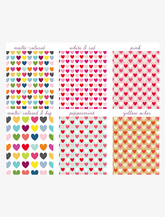 hearts scrapbook papers mr printables