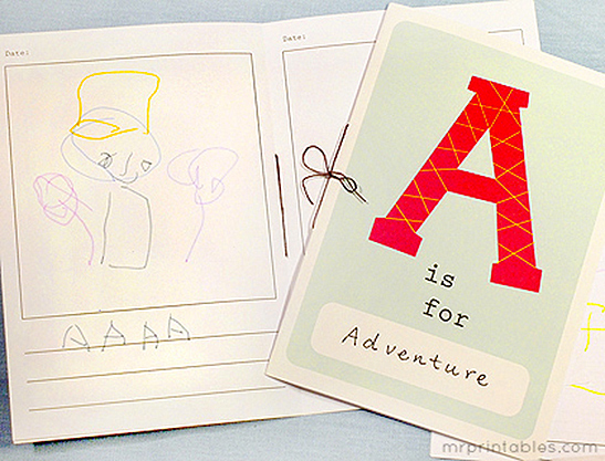 photo about Alphabet Booklets Printable named Printable Alphabet Ebook - Mr Printables