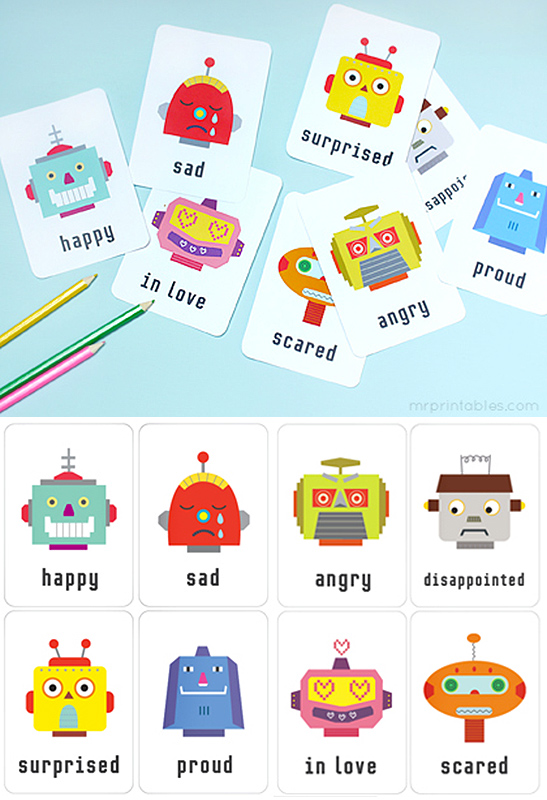 emotions flash cards montessori montessori 942490