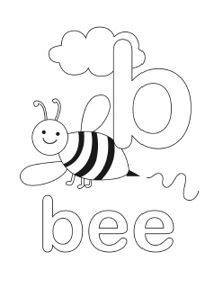 small alphabet coloring pages - photo#32