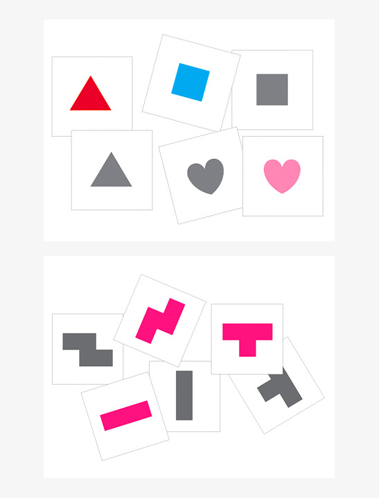 photograph regarding Printable Matching Games identify Form Matching Online games - Mr Printables