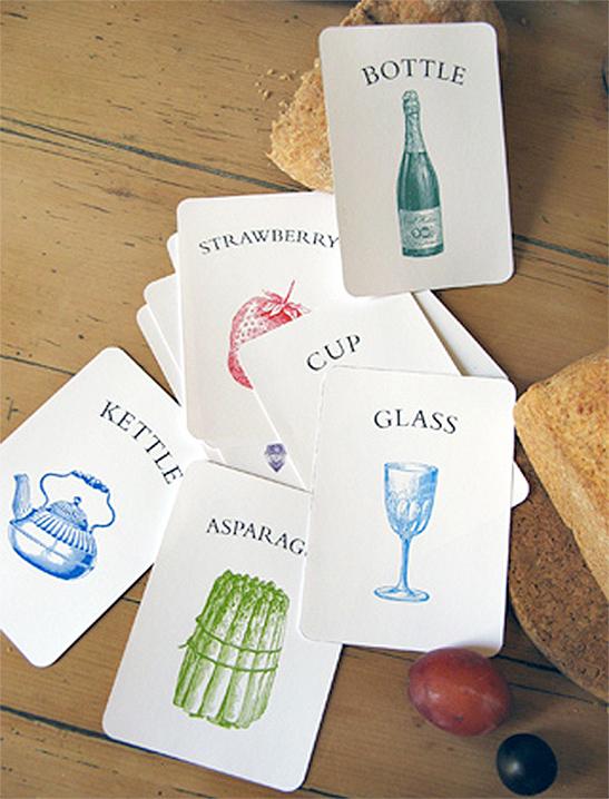 Kitchen Vocabulary Flash Cards - Mr Printables