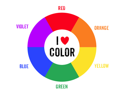 photograph relating to Color Wheel Printable called Printable Shade Wheel - Mr Printables