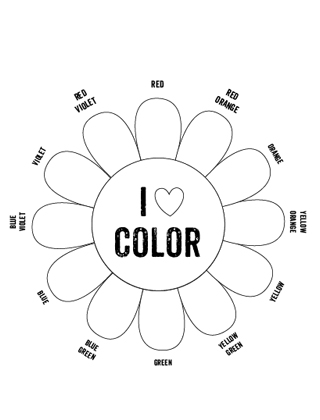 Worksheet Color Wheel Worksheet printable color wheel mr printables primary secondary tertiary colors