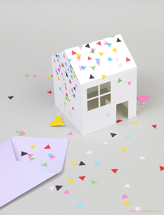 pop up house party invitation mr printables
