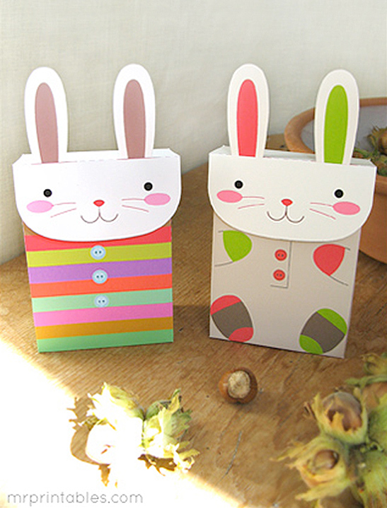 Bunny party favor bags mr printables negle Images
