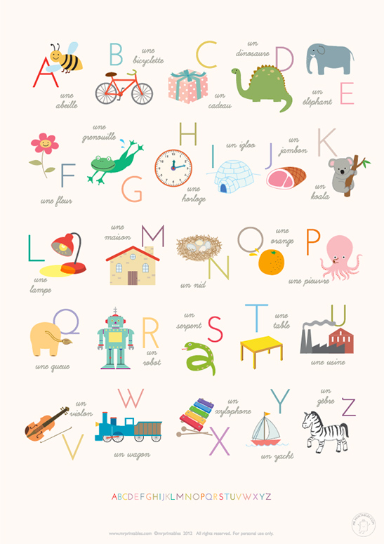Comprehensive image throughout alphabet poster printable