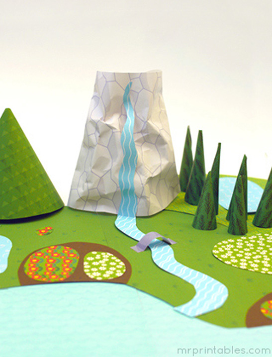My Paper World - Wild Green - Mr Printables